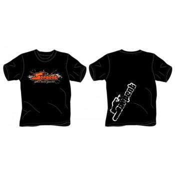 T-shirt Serpent Splash black (S)