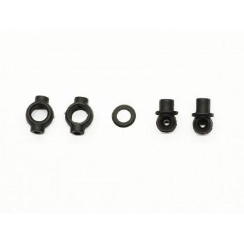 Throttle / brake slider set