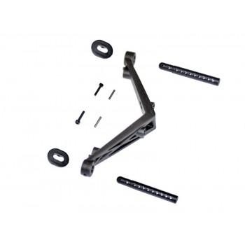 Body mount set rear SRX2 SC
