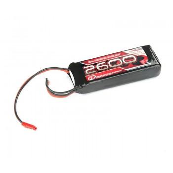 LiPo RX Pack 2/3A Straight 2600mAh 7,4V (EH)