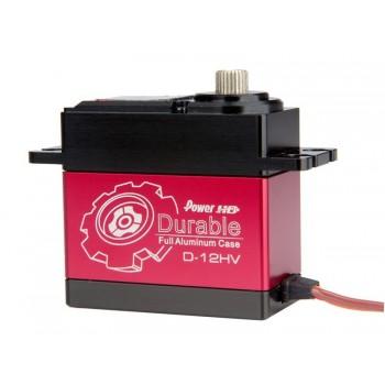 Power HD High Voltage Digital Servo Durable D-12HV