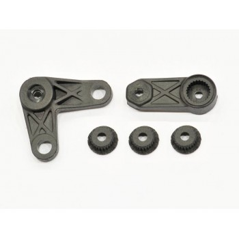 Throttle / steering lever set