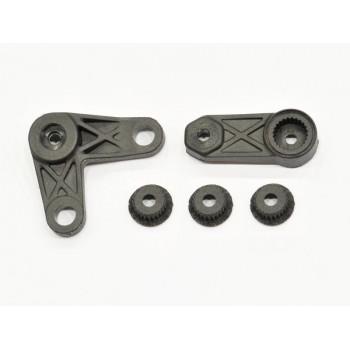 Throttle / steering lever set