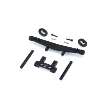Body mount set front SRX2 SC