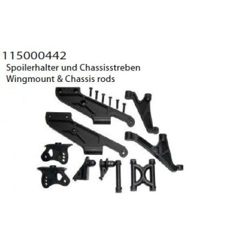 wingmount & chassis rods