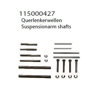 suspension arm shafts