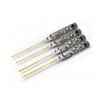 Arrowmax Umbracko sæt 1.5, 2.0, 2.5 & 3.0 x 120MM Honeycomb