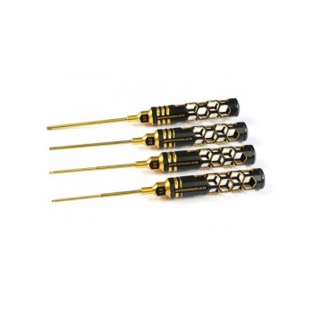 Arrowmax umbracko sæt 4 dele 100mm Black/Golden