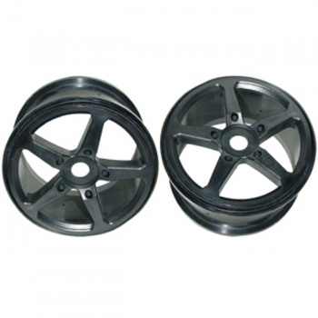 1/6 RACING WHEEL BLACK