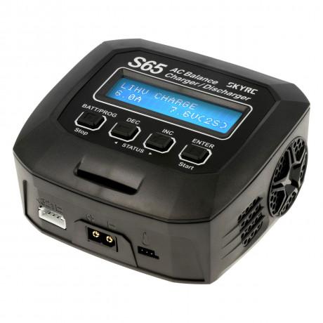 SkyRC S65 AC LiPo 2-4s 6A 65W Discharger 2A 10W