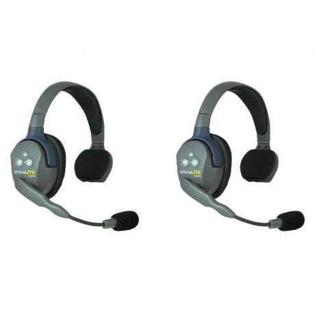 Eartec Headset UltraLITE single ear (2 st headset)