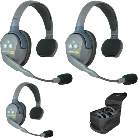Eartec Headset UltraLITE single ear (3 st headset)
