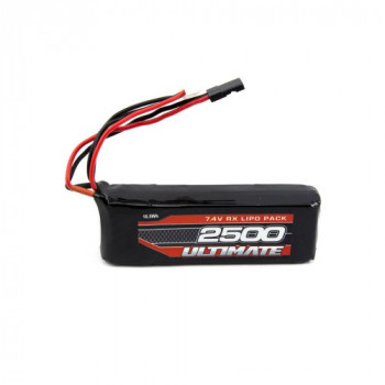 ULTIMATE 7.4V. 2500MAH LIPO...