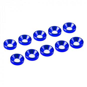 3 MM. ALU. WASHER BLUE (10...