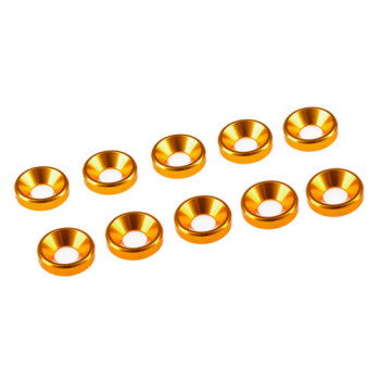 3 MM. ALU. WASHER GOLD (10...