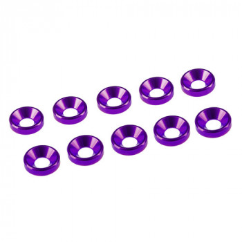 3 MM. ALU. WASHER PURPLE...