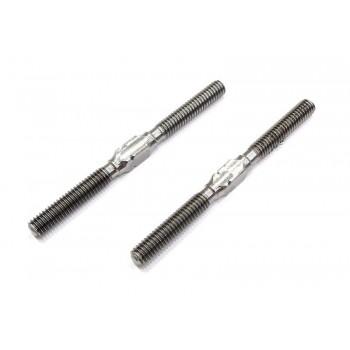 Track rod M5x53 titanium (2)