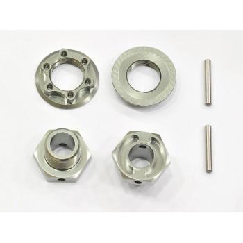 Wheelhexagon light -2mm /nut/pin (2)